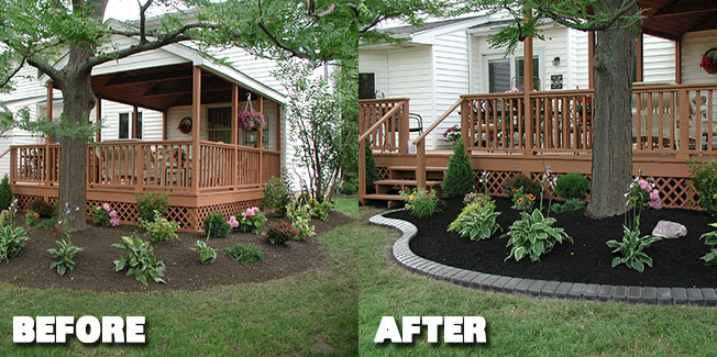 ... Garden Design with Inverness, FL Curbing Citrus Curb Appeal landscape  curbing with Tropical House Plants